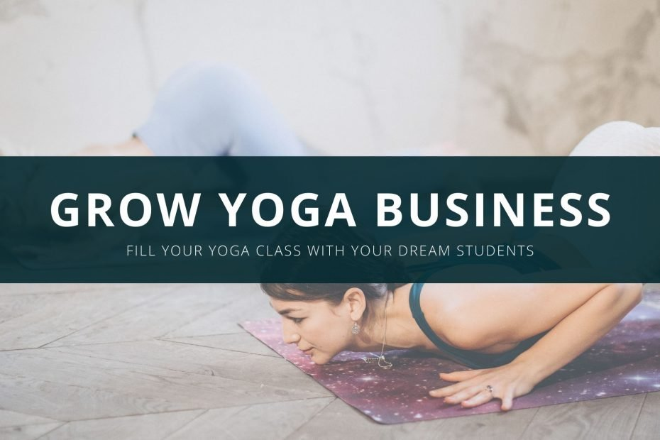 how to grow yoga business